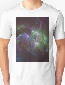 The Amount of Fruity Loops Consumed in a Lifetime as Meteors | Fractal Starscape T-Shirt