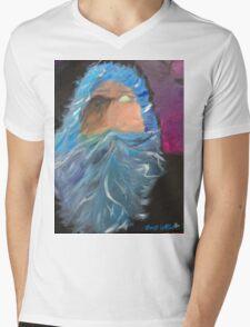 Surreal Odin Allfather Mens V-Neck T-Shirt