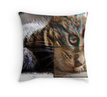 rubydoux. vii (composition) Throw Pillow