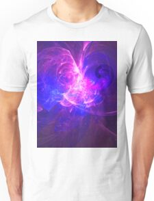 The Telling of Visions To The People of The Great City of Om | Fractal Starscape Unisex T-Shirt