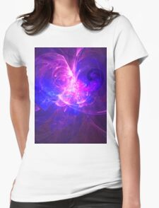 The Telling of Visions To The People of The Great City of Om | Fractal Starscape Womens Fitted T-Shirt