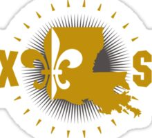 Geaux Saints - Gold Sticker