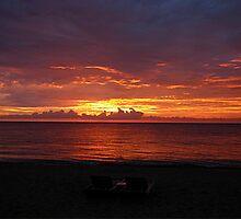 Sunrise at Palm Beach Shores FL by fieldsix
