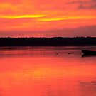 Hadley Point Sunset by MDossat
