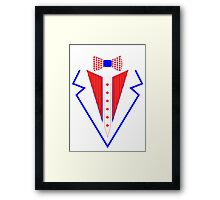 july 4th tuxedo Framed Print