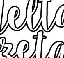 Delta Zeta Wreath Sticker
