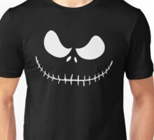 Skellington White Unisex T-Shirt
