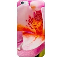 Pink Orchid Macro iPhone Case/Skin