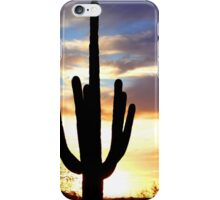 Cactus Sunset iPhone Case/Skin