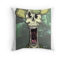 Dead Skipper Throw Pillow