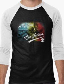 Omar Little - Oh Indeed (Rainbow) - Cloud Nine Edition Men's Baseball ¾ T-Shirt