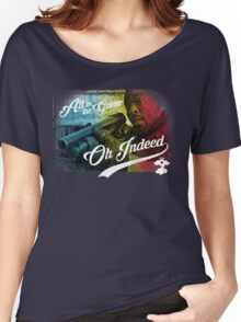 Omar Little - Oh Indeed (Rainbow) - Cloud Nine Edition Women's Relaxed Fit T-Shirt