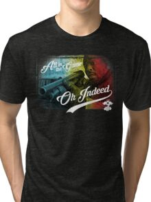 Omar Little - Oh Indeed (Rainbow) - Cloud Nine Edition Tri-blend T-Shirt