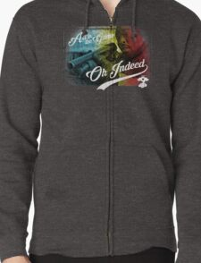 Omar Little - Oh Indeed (Rainbow) - Cloud Nine Edition Zipped Hoodie