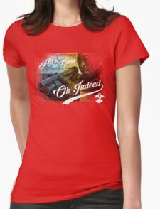 Omar Little - Oh Indeed (Rainbow) - Cloud Nine Edition Womens Fitted T-Shirt