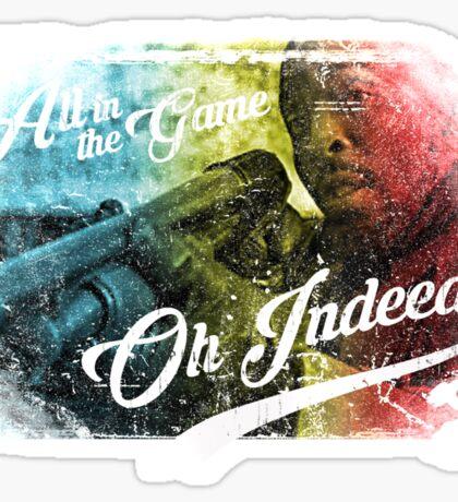 Omar Little - Oh Indeed (Rainbow) - Cloud Nine Edition Sticker