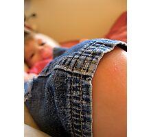 baby knee Photographic Print
