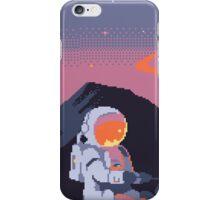 Stranded Pixel Astronaut  iPhone Case/Skin