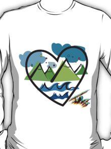 Traveling Heart T-Shirt
