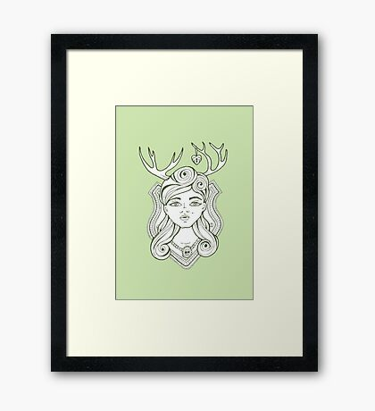 Trophy Wives Two Framed Print