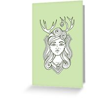 Trophy Wives Two Greeting Card