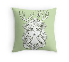 Trophy Wives Two Throw Pillow