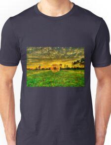 Dandelion in the Sunset Unisex T-Shirt