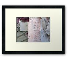 DisCo Challenge First reveal 2 layers Framed Print