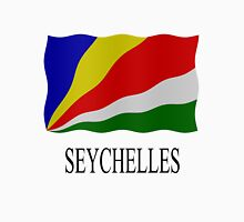 Seychelles flag Womens Fitted T-Shirt