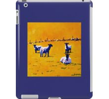 Sheep, Stone Wall II iPad Case/Skin