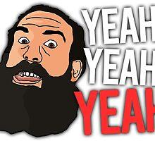 "Luke Harper ""Yeah Yeah Yeah"" WWE Wrestling T-Shirt by Thomas Cushnie"