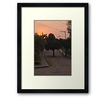 """Eco"" Urban Planning Framed Print"