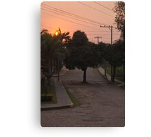 """Eco"" Urban Planning Canvas Print"