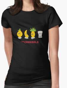 The Cannibals Womens Fitted T-Shirt