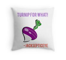 Jacksepticeye Turnip for What Throw Pillow