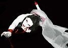 The Red Fall - Self Portrait by Jaeda DeWalt