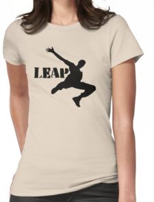 Leap Womens Fitted T-Shirt