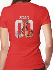 Roronoa Zoro 00 Womens Fitted T-Shirt