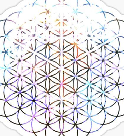 Carina Flower of Life   Sacred Geometry Sticker