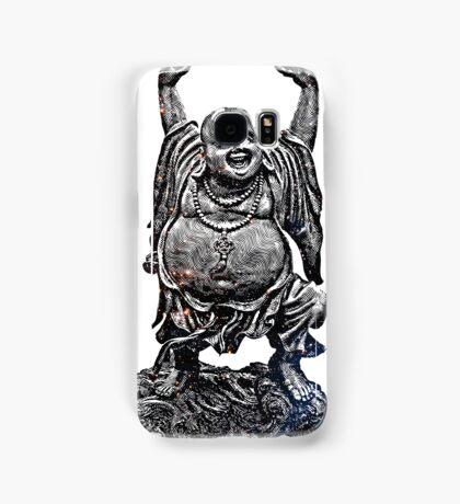 Happy Buddha | Starry Night Samsung Galaxy Case/Skin