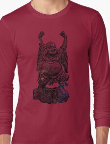 Happy Buddha | Starry Night Long Sleeve T-Shirt