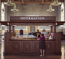The Information Desk by stereognomes