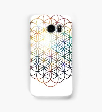 Heart of Orion Flower of Life | Sacred Geometry Samsung Galaxy Case/Skin