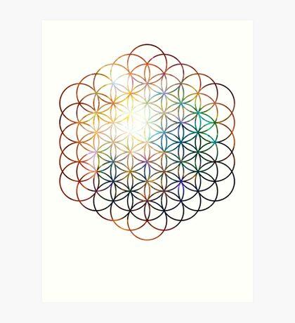Heart of Orion Flower of Life | Sacred Geometry Art Print