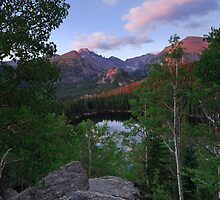 Above Bear Lake- Rocky Mountain National Park, Colorado by Teresa Smith