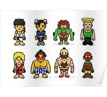 Steet Fighter II - Bape Collaboration Collection (Poster 2) Poster
