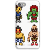Steet Fighter II - Bape Collaboration Collection (Poster 2) iPhone Case/Skin