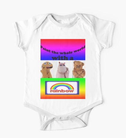 Paint the whole world with a rainbow! One Piece - Short Sleeve