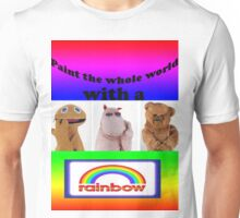 Paint the whole world with a rainbow! Unisex T-Shirt