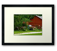 Barnyard Collectables Framed Print
